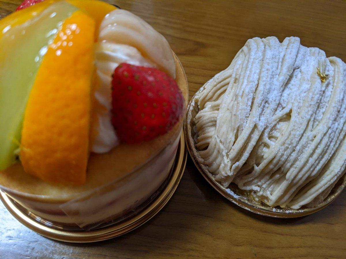 test ツイッターメディア - 来週月曜日妻の誕生日なんだけど、明日は残業、土日は息子と静岡で来週月曜日はまた仕事忙しいから今日帰り際に駅ナカのケーキ屋さん(ガトードボワイヤージュさん)で妻へのケーキ購入🎂🍓🍈 渡したら喜んでくれた✨😊✌️ あとはプレゼント何にしよっかなぁー😅💦 https://t.co/tpH6LFC1n8