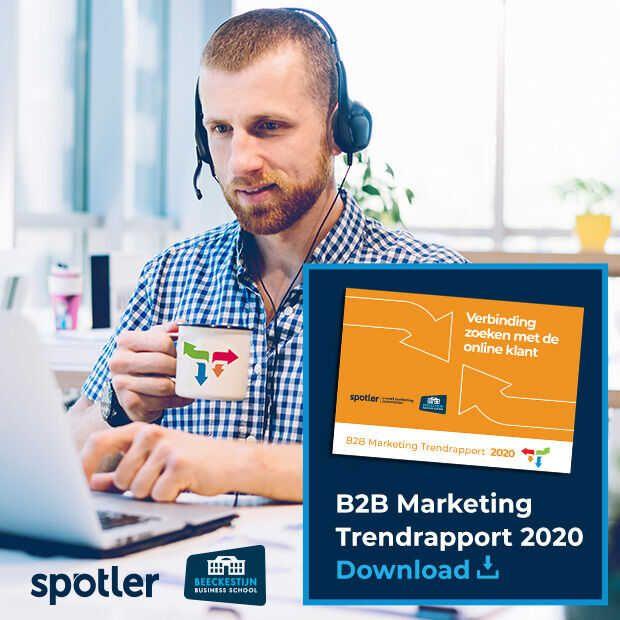 B2B Marketing Trendrapport 2020: Verbinding zoeken met online klant https://t.co/LDjPW03TwA https://t.co/N6V18aAind