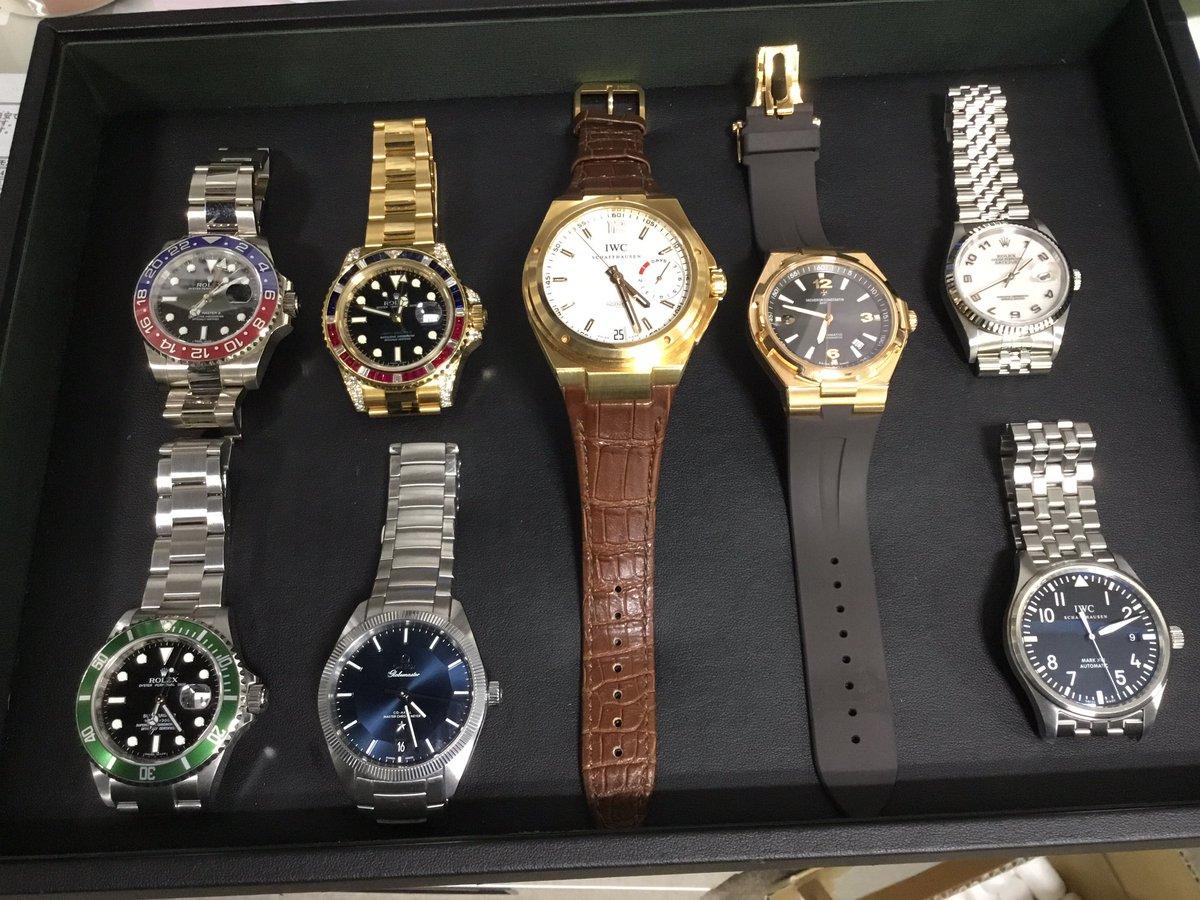 渋谷店では金無垢の時計多めでお買取りさせて頂きました! 稀少な116758 ありがとうございました。 #ロレックス #GMTマスター #iwc #16610lv #116758saru #116719blro https://t.co/2pDjUgciVe