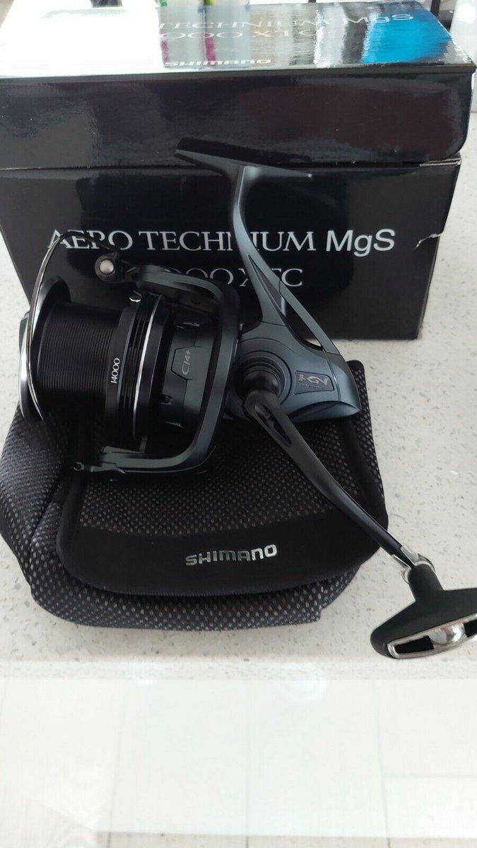 Ad - 2x Shimano Aero Technium 14000 MgS XTC On eBay here -->> https://t.co/GXZxA6oiER  #carpfi