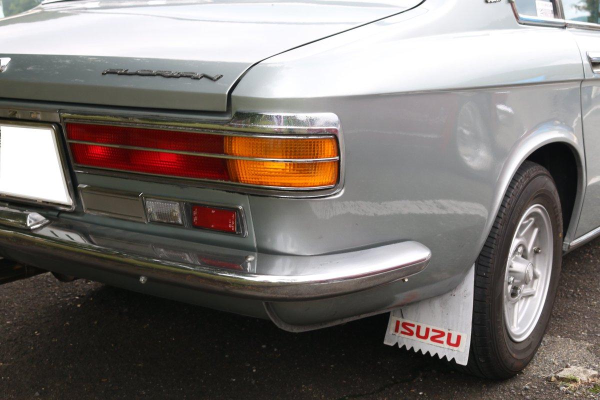 test ツイッターメディア - 初代いすゞフローリアン 中期型の顔はファスターにも流用されていますね。ボンネットのエンブレムも前期型(草ヒロ)を見たときはアイマークだったのが矢羽マークに変わっていました。  ちなみにこれ、エンジンは載せ替え済み…? https://t.co/rgjSuNWE4y
