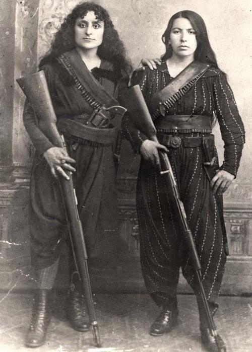 test Twitter Media - Armenian women guerrilla fighters, 1895 https://t.co/stnrPpAsUV
