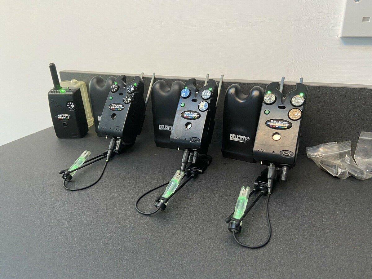 Ad - Green Delkim TXI Plus bite alarms with receiver On eBay here -->> https://t.co/K8txSDumHO