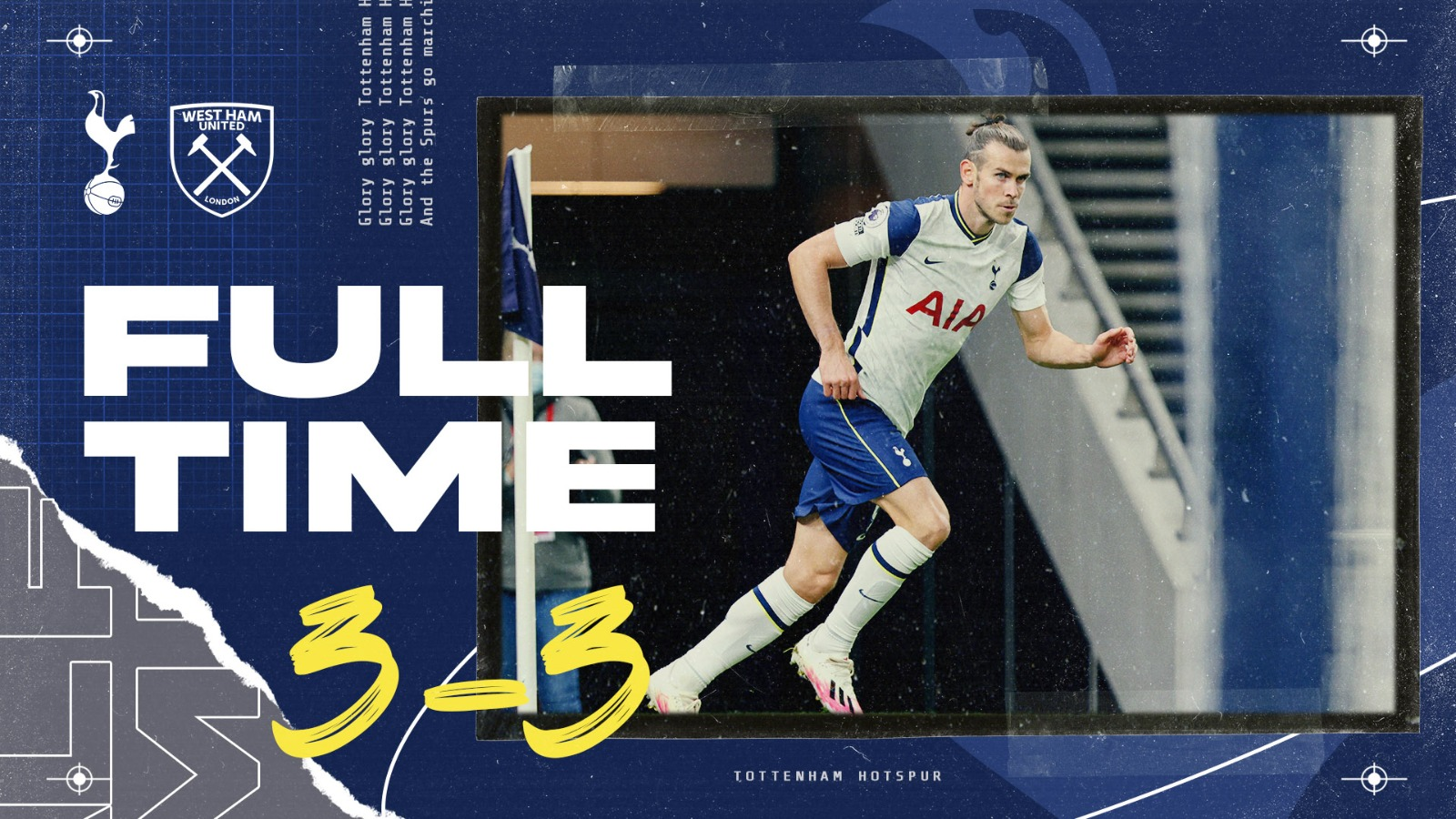 FULL-TIME: A last-minute equaliser for the visitors sees the points shared at Tottenham Hotspur Stadium.  ⚪ #THFC 3-3 #WHUFC ⚒️ https://t.co/PsGbPGwwKf