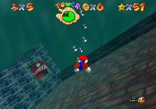 That red fish in that one stage in Super Mario 64