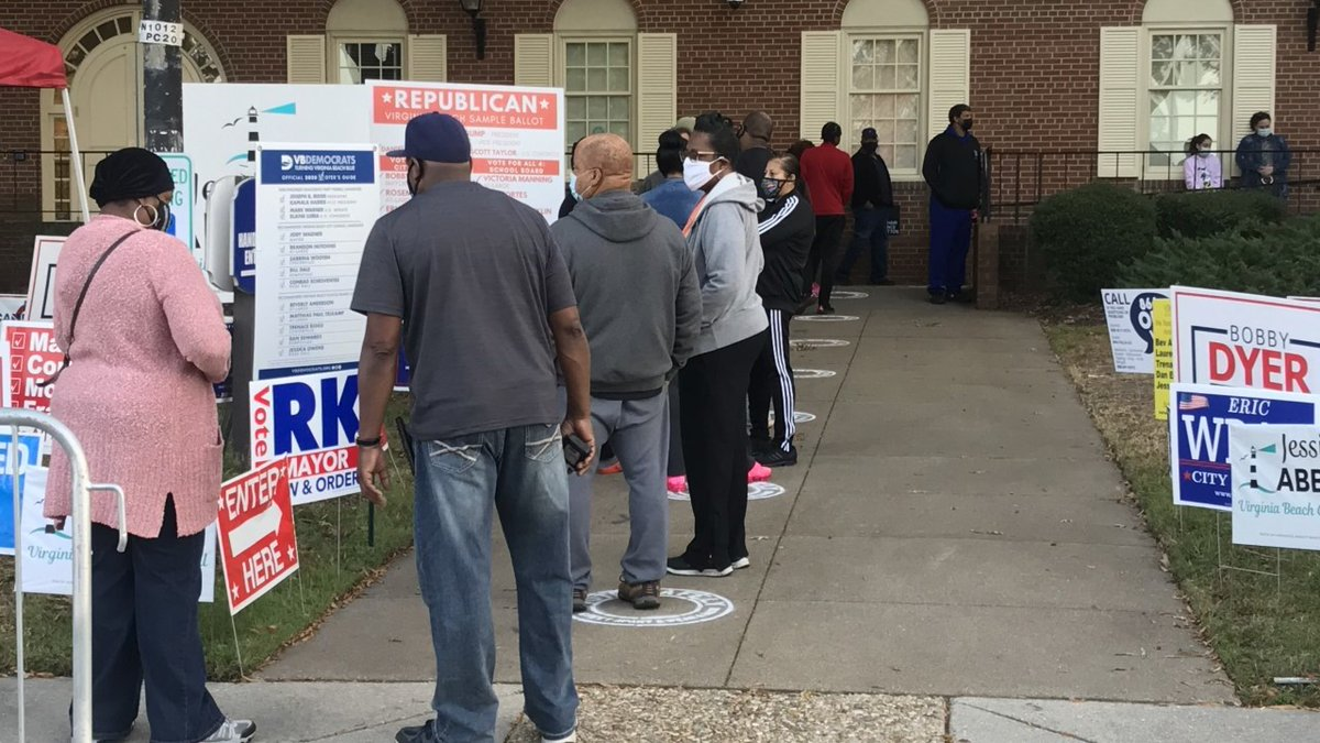 #VirginiaBeach opens new early-voting, in-person polling locations