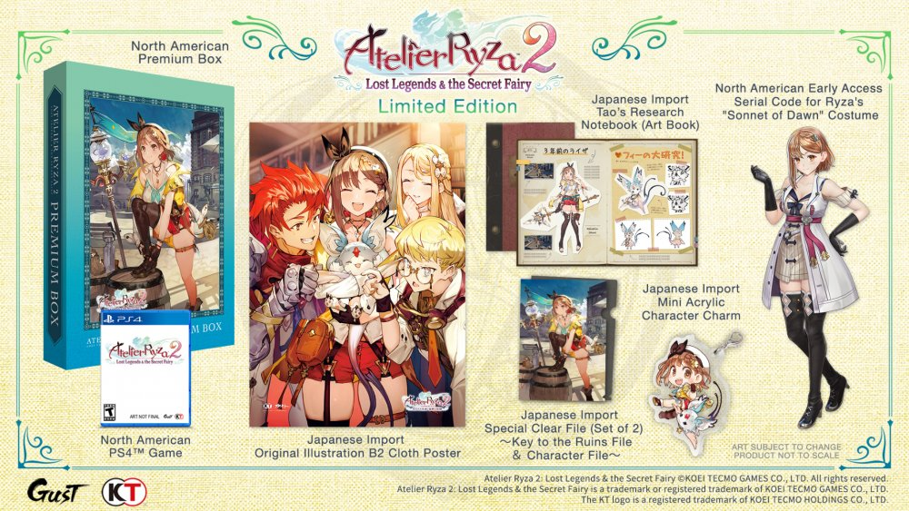 #AtelierRyza2 LE at <25% for Ps4 & Switch don't miss out on this opportunity! #KTfamily   PS4:  Switch:   #KTfamily #AtelierRyza