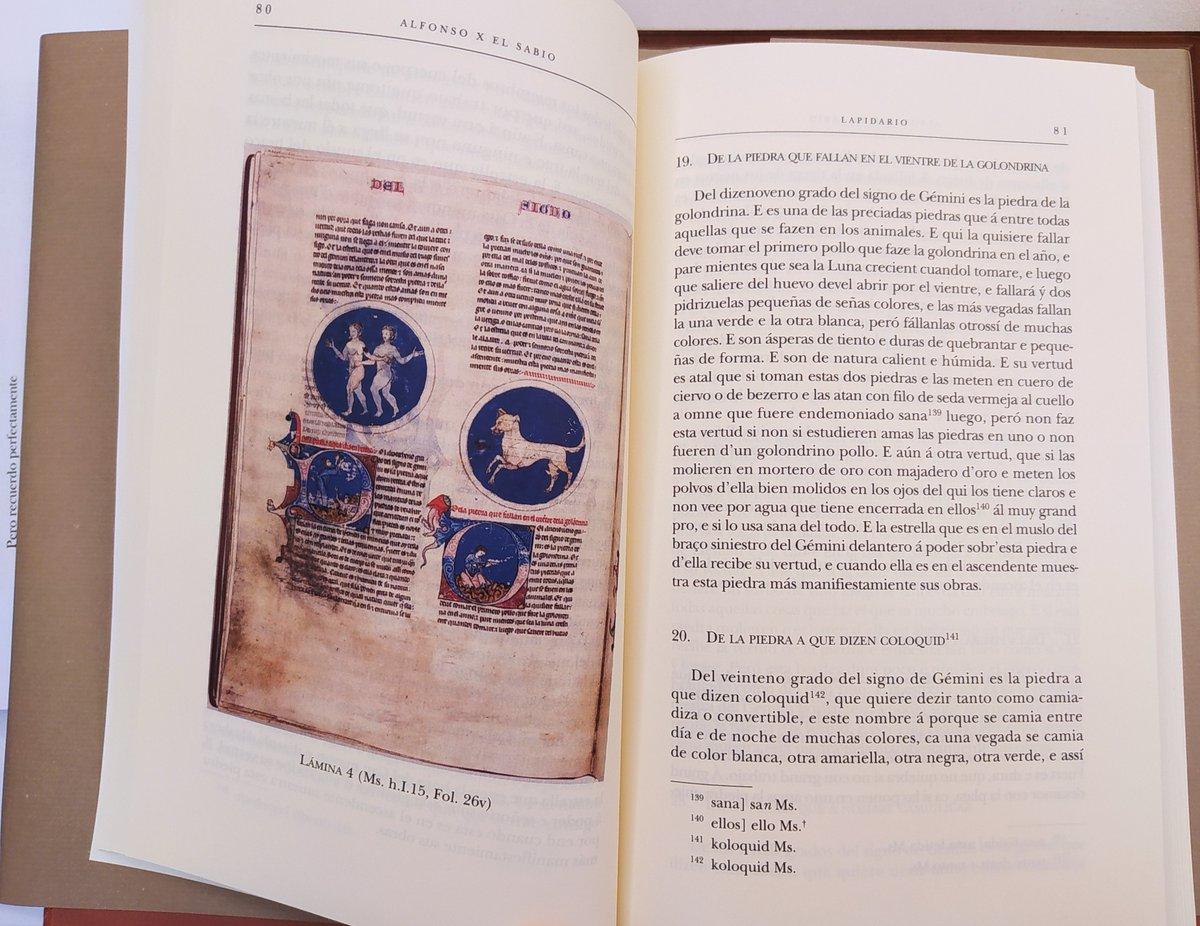 test Twitter Media - El Lapidario de Alfonso X explica las propiedades de las piedras (lapides en latín, de ahí el título) cuyos efectos se ven aumentados por el influjo de los astros y los signos del Zodíaco. https://t.co/rNGBGCUwjs https://t.co/KU3abrwZ2G