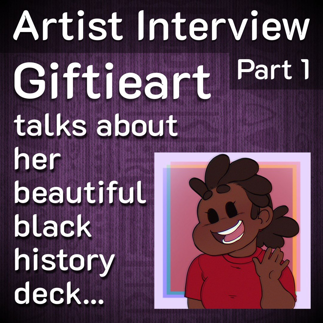 PS5 or Xbox Series X - we'll tell you here! New interview with the artist behind our Black History Deck @Giftieart celebrating @BhmUK   Read about Gifty, her own choice for the battle of the consoles & more -   #ArtistOnTwitter #IndieGameDev  #solitaire