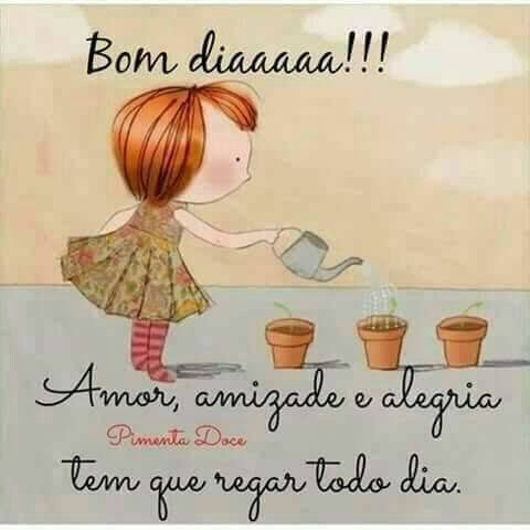 """#Love, #friendship and #joy have to water every day."" 😉 🌷 #BomDia #BuenosDias #GoodMorning #HappyDay #HappyTuesday https://t.co/VsnYdvO93s"