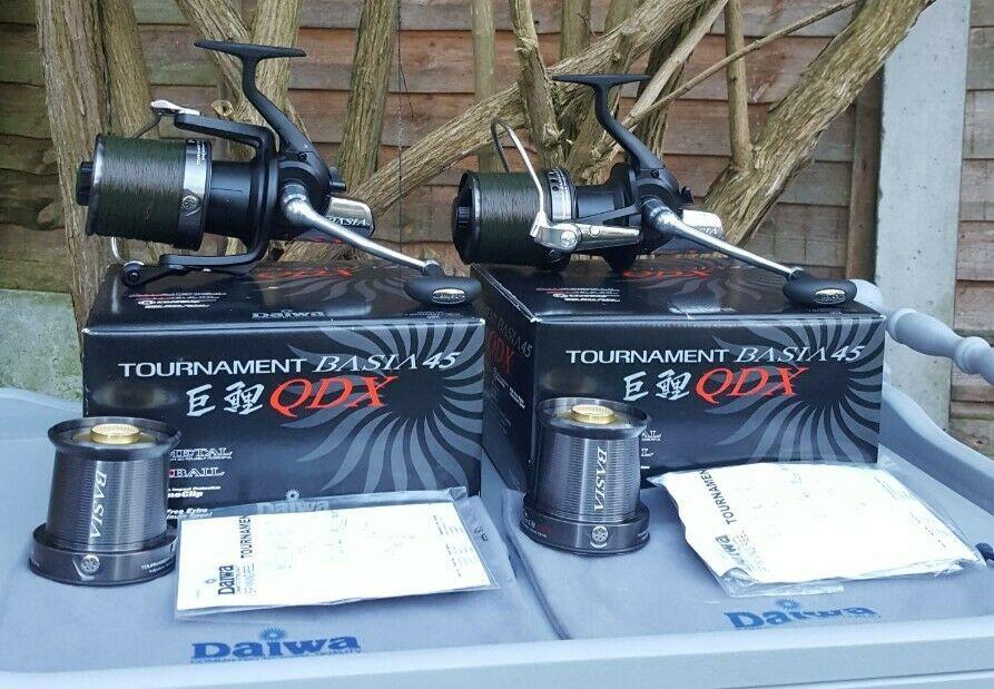 Ad - Daiwa Tournament Basia 45 QDX x2 On eBay here -->> https://t.co/sUh8pMkiVo  #carpfishing
