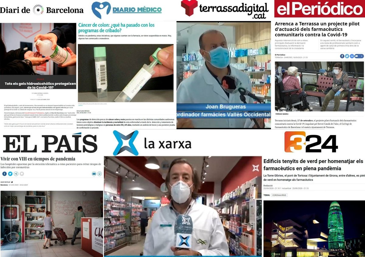 test Twitter Media - Quina presència va tenir el COFB als mitjans de comunicació 🗞️🖥️📻📺 durant agost i setembre? El Dia Mundial del Farmacèutic, els tests d'antígens a la farmàcia i el projecte pilot de Terrassa contra la #COVID19 , temes més destacats als mitjans. 👉🏻 https://t.co/KDq5X1QNxJ https://t.co/4Kic0WGzzV