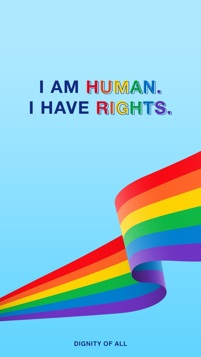 As we raise the rainbow flag again for #UPPride, remember the continuing call that LGBTQ+ RIGHTS are HUMAN RIGHTS.  We have #Pride wallpapers for your phones! Mas fab, mas fun!  DOWNLOAD ALBUM: