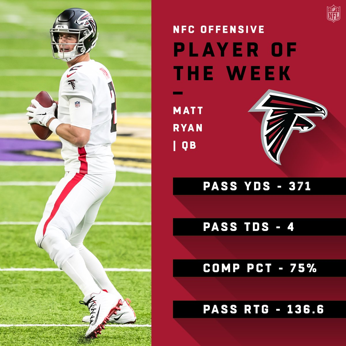 NFC Players of the Week! (Week 6)