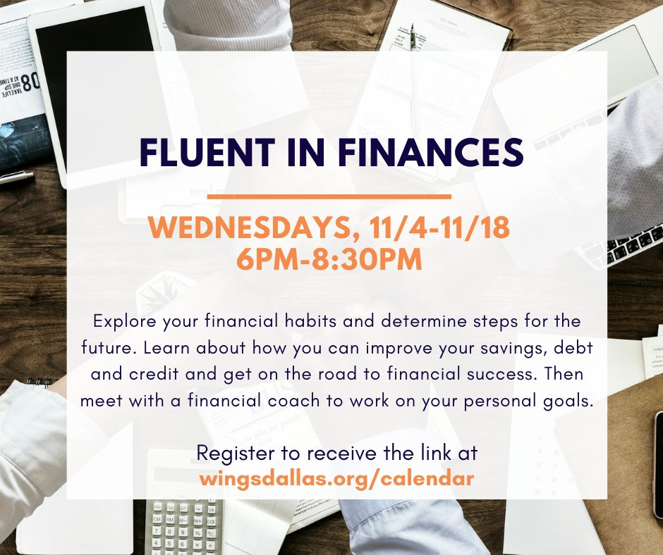 test Twitter Media - The opportunity to master your finances has come around again! Join us for the free virtual financial education series, Fluent in Finances beginning this Wednesday, 11/4! Sign up today at https://t.co/VaAFMOs4HS! #financialeducation #freevirtualclasses #personalfinances https://t.co/B7utwT1Sbd