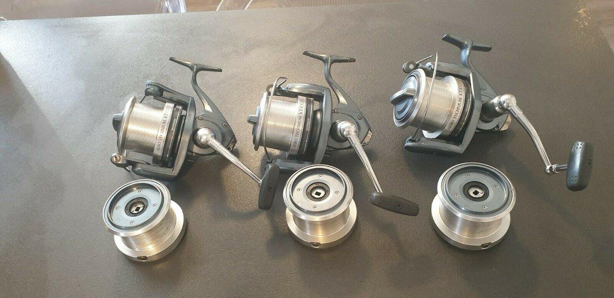 Ad - 3x Shimano Technium <b>10000</b> XT with spare spools On eBay here -->> https://t.co/GkFj
