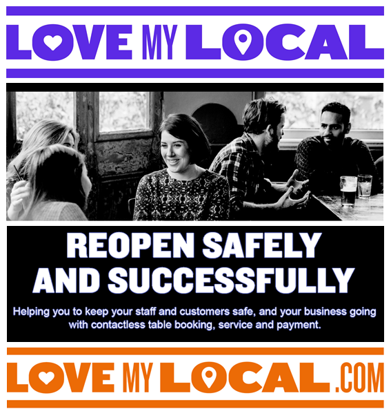 England's lock-down start's Thursday. Digitise your business. We've launched 'Love My Local'. A free-to-use platform, helping your pub, bar or restaurant supply your local community with food or drink during social distancing and beyond. Enjoy Responsibly  https://t.co/vWGBqyw7XV https://t.co/lVWvVcMukH
