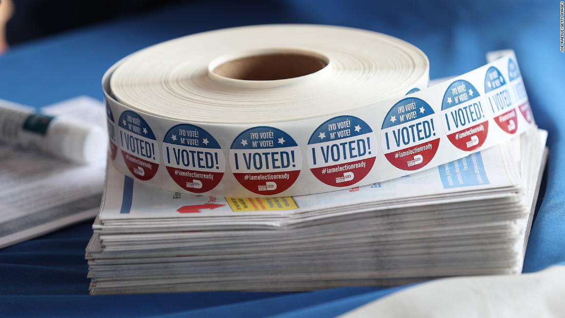More than 50 million Americans have already cast their general election ballots with a week and a half until Nov. 3, according to a survey of election officials by CNN, Edison Research, and Catalist