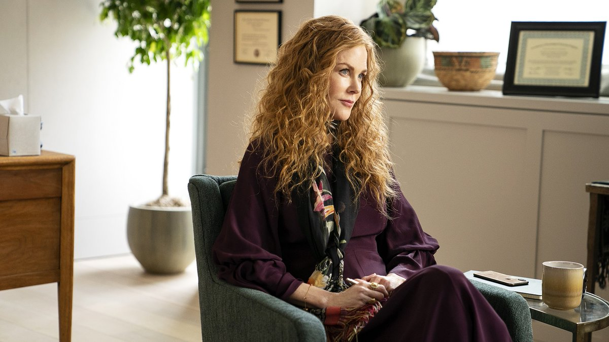 I've been waiting for this session with Nicole Kidman for MONTHS.  #TheUndoing premieres tonight on @hbomax.