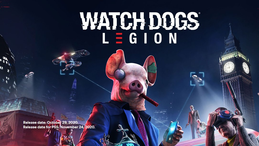 Pre-order Watch Dogs: Legion @BestBuy to get a $10 reward points bonus with purchase. Free upgrade to next-gen versions too.  Follow us & Retweet for a chance to win a $60 Best Buy Gift Card! Ends 10/27, 9PM EST. #sponsored