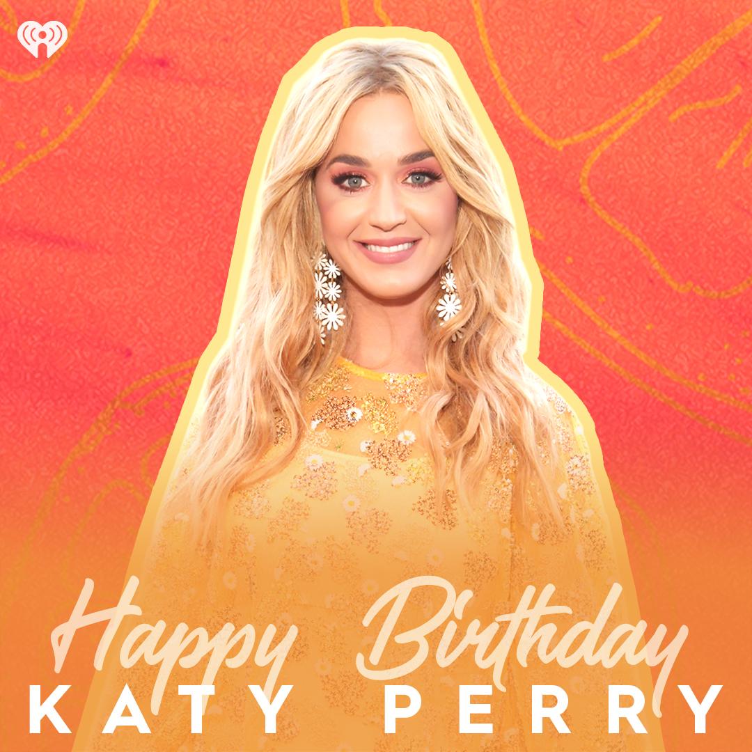 Wishing @katyperry the happiest birthday ever! We love you! 💛