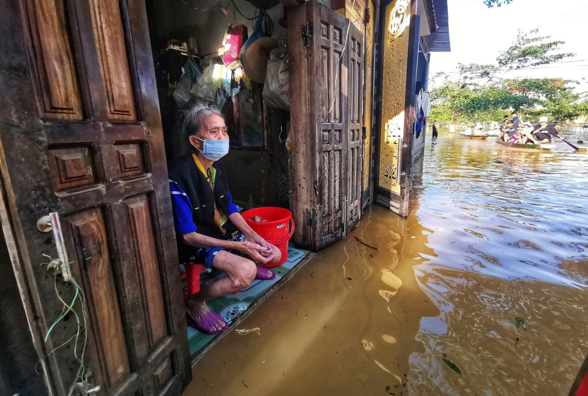 114 people have died and over 20 are missing in Vietnam from the worst floods in decades.  Nearly 180,000 homes are flooded, and a third major storm will land this weekend. Climate change is the key driver of more frequent and dangerous weather, experts say.
