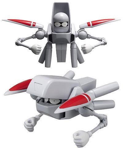 test ツイッターメディア - お父さん 宇宙家族カールビンソンのお父さんw 元宇宙最強の兵士だったけど今はボーッとしてるだけ、かな。 飛行形態へ変形、各種オプションと合体など、見た目にそぐわないw 可変モデルのプラモが欲しいー https://t.co/vrao06UpiS