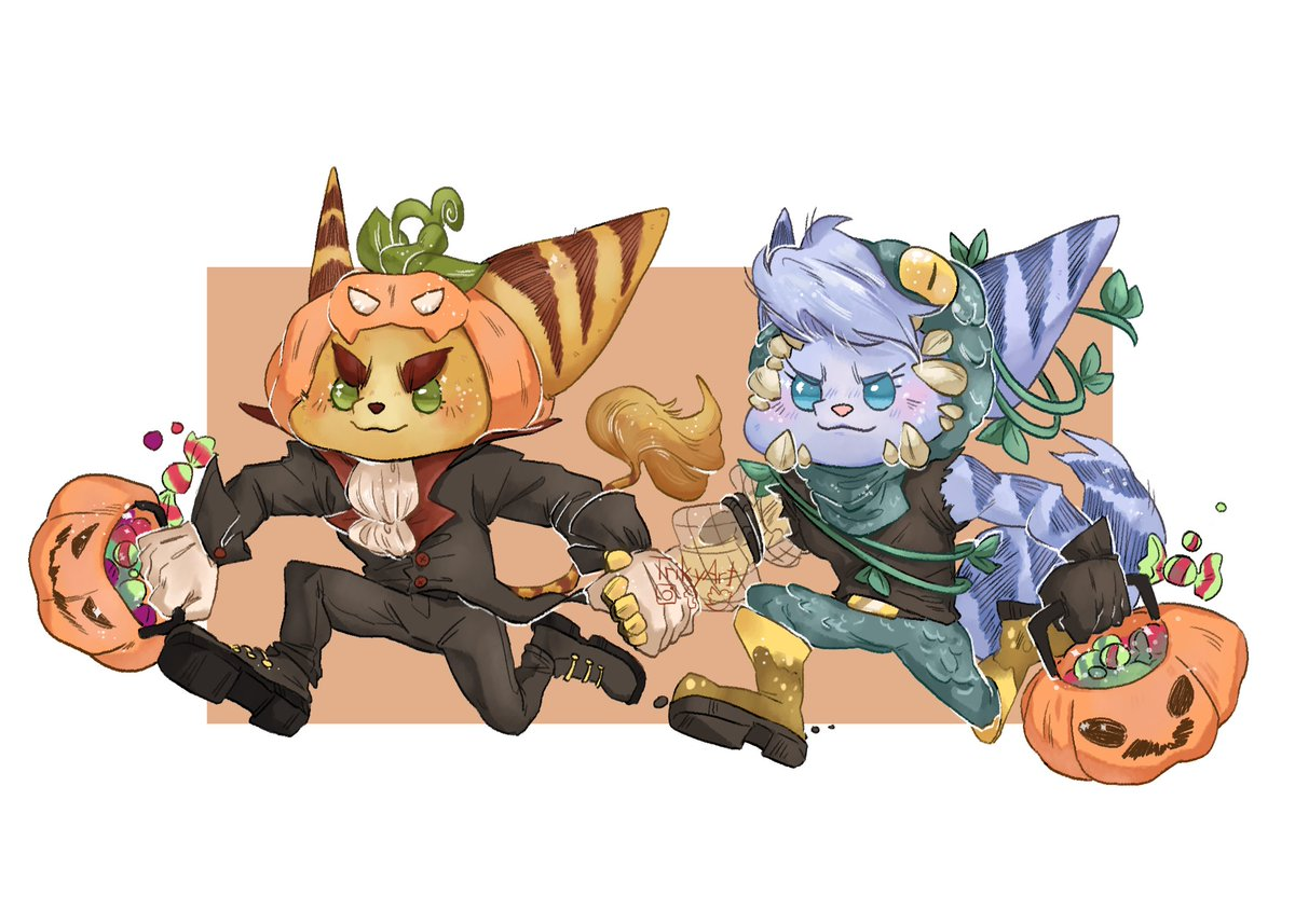 They are on their way to steal your candy #Ratchet #RatchetAndClank