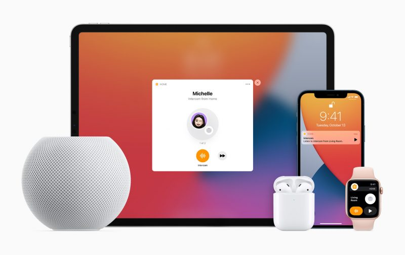 How to Use Apple's New Intercom Feature by @julipuli