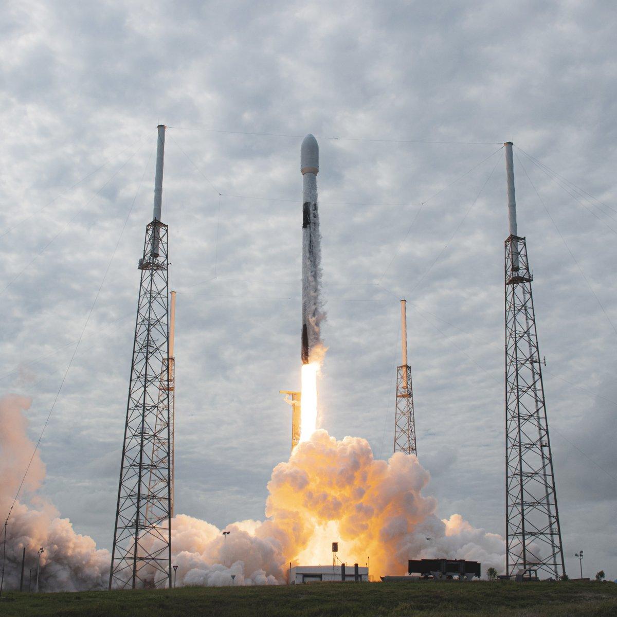 Falcon 9 launches SpaceX's 100th successful flight →