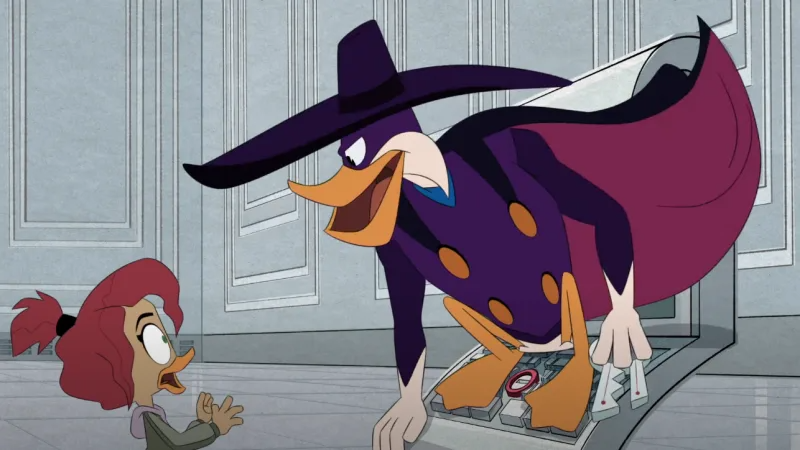 PSA: The Darkwing Duck DuckTales special is streaming for free on YouTube.