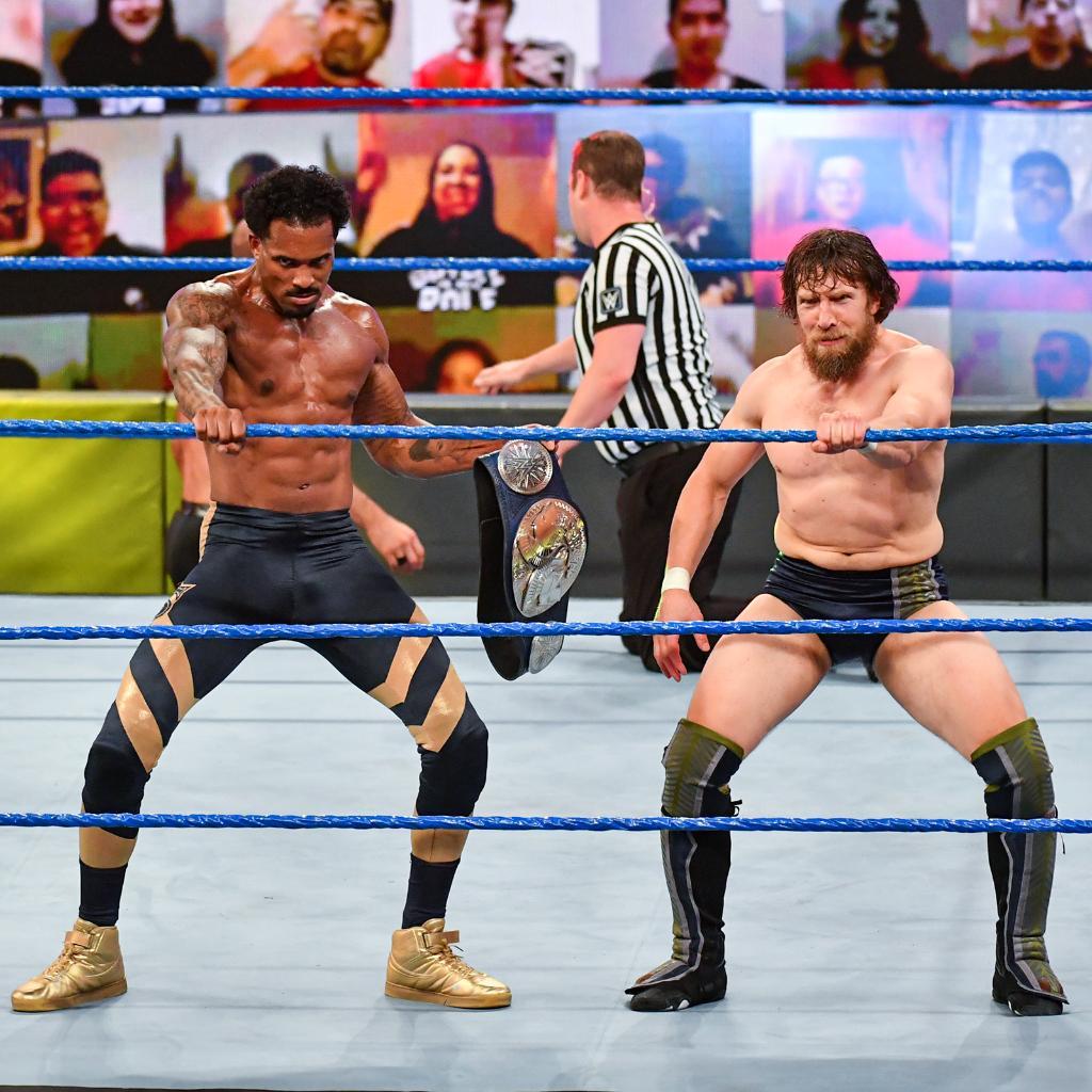 The union we didn't know we needed but most definitely deserve. 😂. #SmackDown @MontezFordWWE @WWEDanielBryan