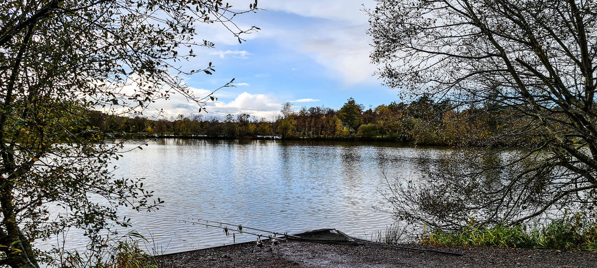 Back out on the bank for a couple of days <b>🎣</b><b>🎣</b> #carpfishing #angling https://t.co/