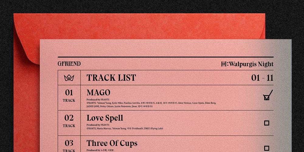GFriend unveils magical tracklist for 10th mini album '回: Walpurgis Night'