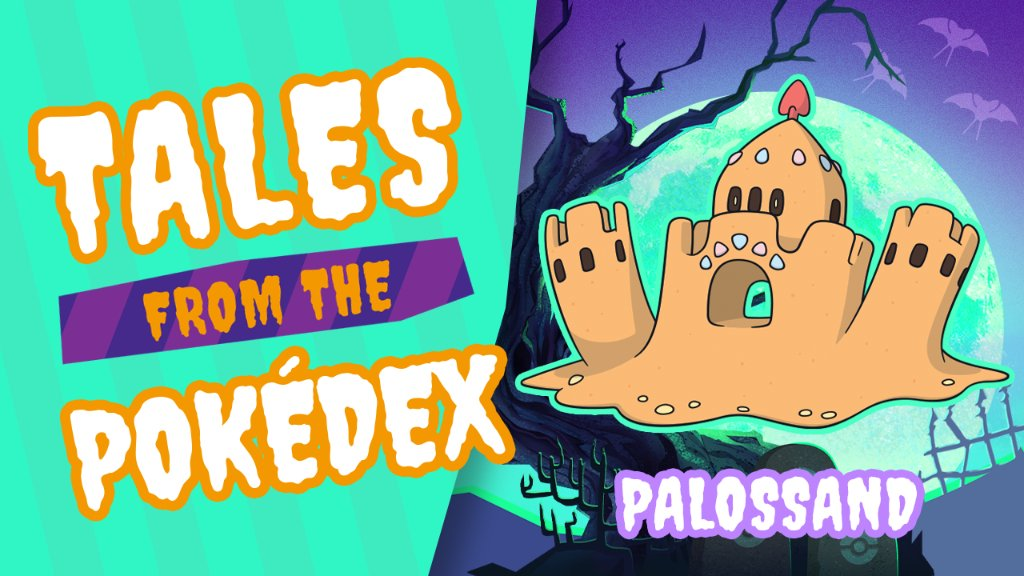 It pulls its prey down into the sand by controlling the sand itself, and then it sucks out their souls.  Shubble digs up the details on Palossand in #TalesFromThePokedex, a special series about spooky Pokédex entries. Which Pokémon scares you the most?