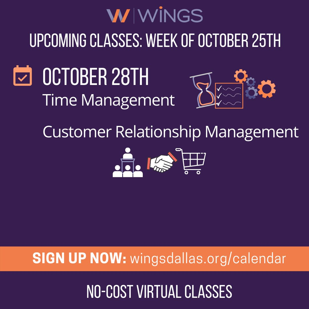 test Twitter Media - If you haven't already registered for the virtual time management class or our CRM class, please head to https://t.co/VaAFMOs4HS today! If you've taken Time Management then you know how impactful it can be! Tag a friend who could use some more free time in the comments! https://t.co/EGopBMaZvU