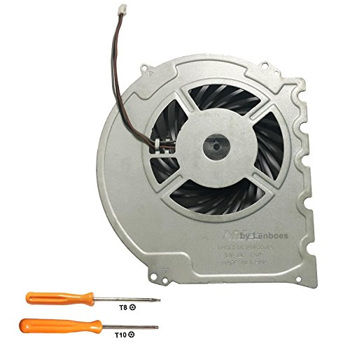 lenboes Internal CPU GPU Cooling Fan Replacement Part for Sony Playstation 4 PS4 Slim Console CUH-2015A CUH-2016A CUH-2017A CUH-20XX with Opening Tool Kit  #ps5 #playstation #videogames