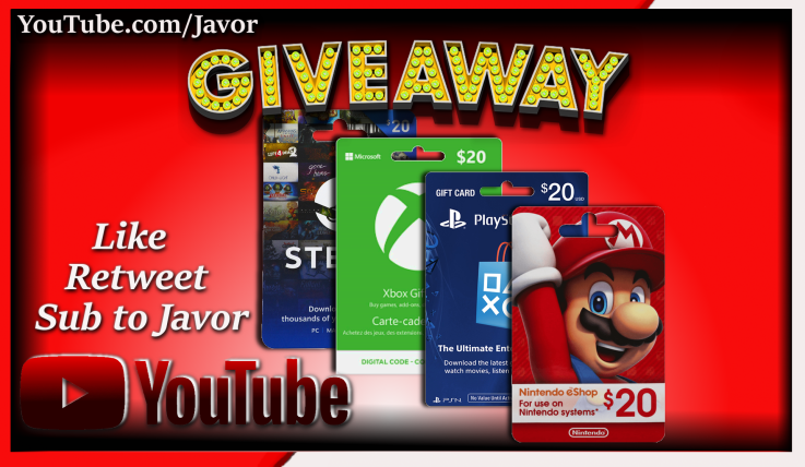 #Giveaway TWO WINNERS will be chosen. Each winner receives a $20 gift card for platform of their choice.  - Retweet - Subscribe and Comment on any video at   Ends October 31, 2020 at 6:66 PM EST! Winners Announced 10/31  #Xbox #PlayStation #Nintendo #Steam