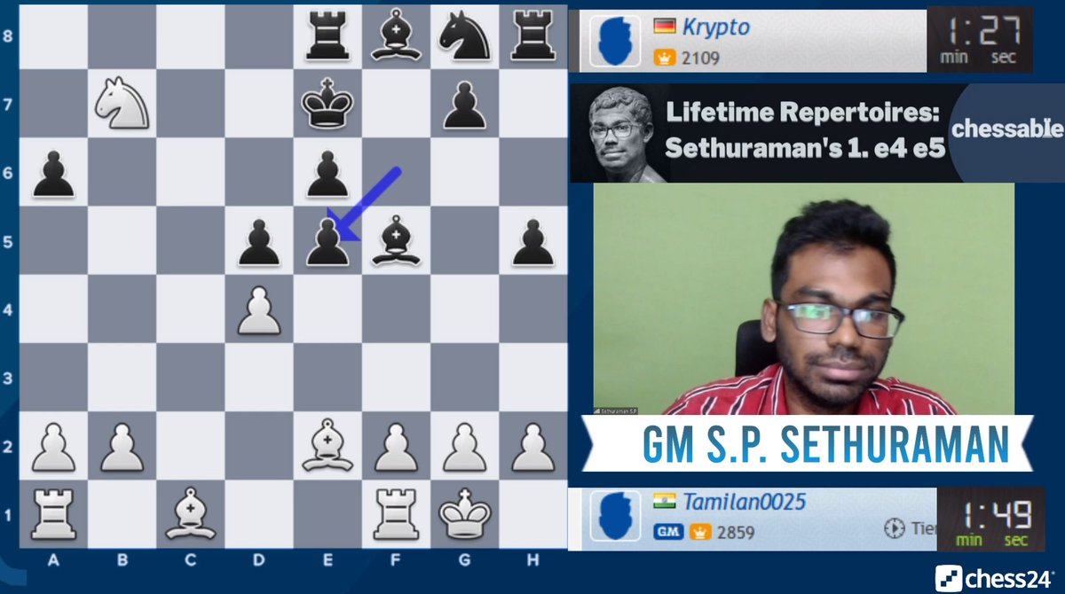 test Twitter Media - Indian GM @sethuramanchess is playing Banter Blitz now!  https://t.co/OlBjNoClss  #c24live https://t.co/0GMfT4WmQj
