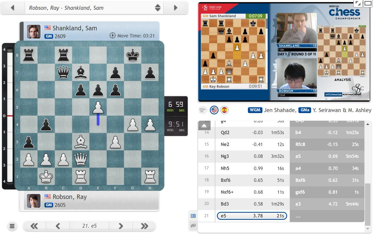 test Twitter Media - A killer blow by Ray Robson, who's heading for a second win in a row! https://t.co/heoEFcxqfK  #c24live #USChessChamps https://t.co/XnsfreEVsU