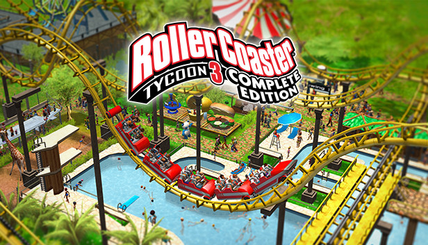 #RollerCoasterTycoon3: Complete Edition on #NintendoSwitch isn't quite a roller coaster of love. Our review: