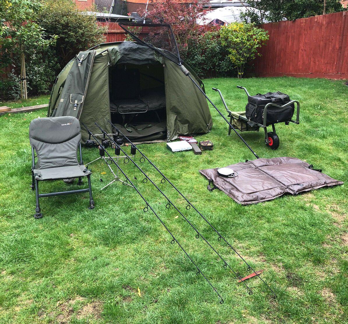 Ad - Carp Fishing Complete Set Up On eBay here -->> https://t.co/5YYVA0Oxc6  #carpfishing http
