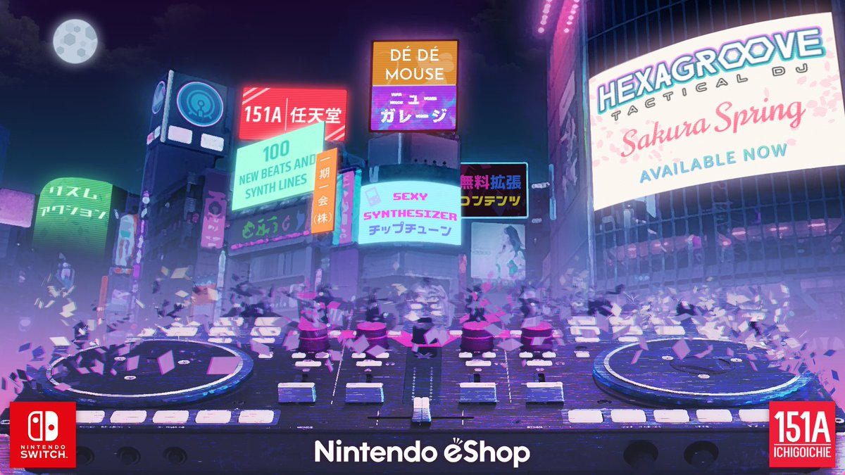 To celebrate our Steam launch, we're on sale for all our #nindies and #NintendoSwitch fans. Grab our award-winning DJ strategy game now 25% off!  🕹: