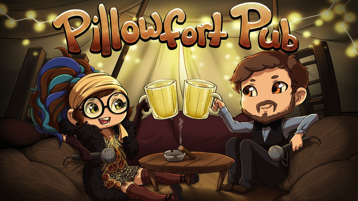 Pillowfort Pub Kupaa Networks' lewd interview podcast is now available on YouTube:    The backlog of episodes will be uploaded in the next weeks.  All previous episodes are also available to listen to on  #podcast #nsfwart