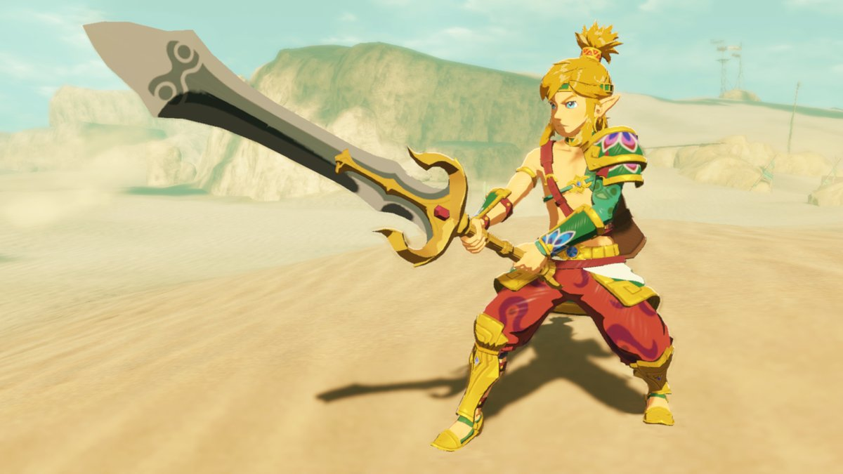 Link can don familiar fashion from The Legend of #Zelda: Breath of the Wild in #HyruleWarriors: Age of Calamity. Got a favorite?