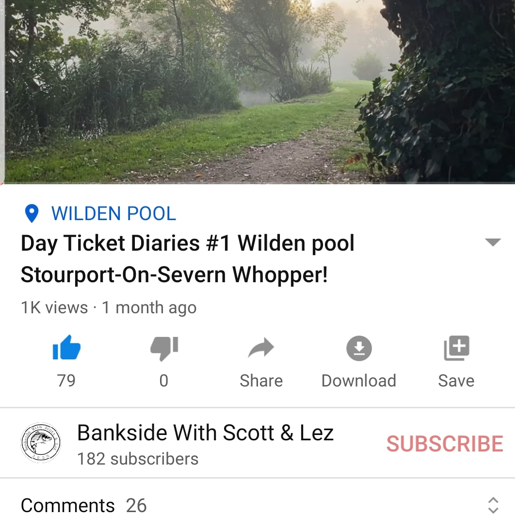 1,000 views on our first YouTube video <b>🎣</b> #carp #carpfishing #fishing #fishinglife #fishing