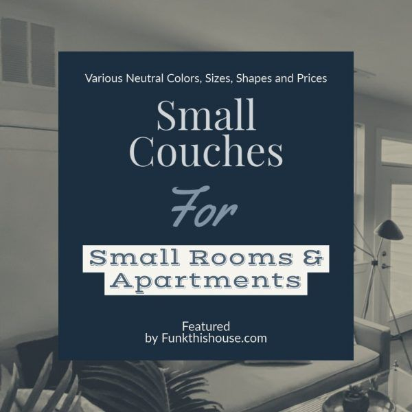 RT @TheWritersdoor: Small Couches for Small Spaces written by Barbara...