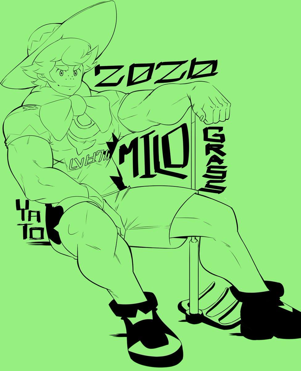 Posting something to let you know I'm still alive. lol. I joined #sketchtember   #pokemonart #pokemonartwork #pokemonswordshield #pokémon #galarregion #galar #milo #grasstype #grasstypetrainer #sketch