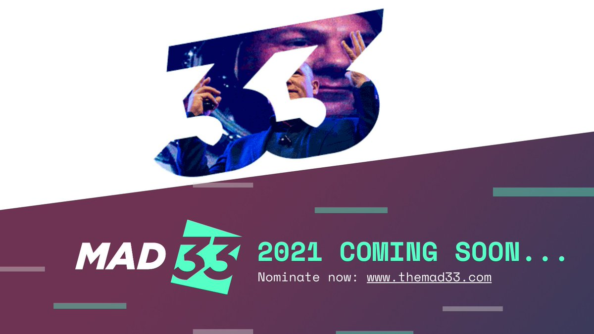 test Twitter Media - The countdown begins NOW! We are just a few weeks away from launching MAD33 2021. Who will you nominate? https://t.co/4AAB2UYdec https://t.co/yostbazMpQ