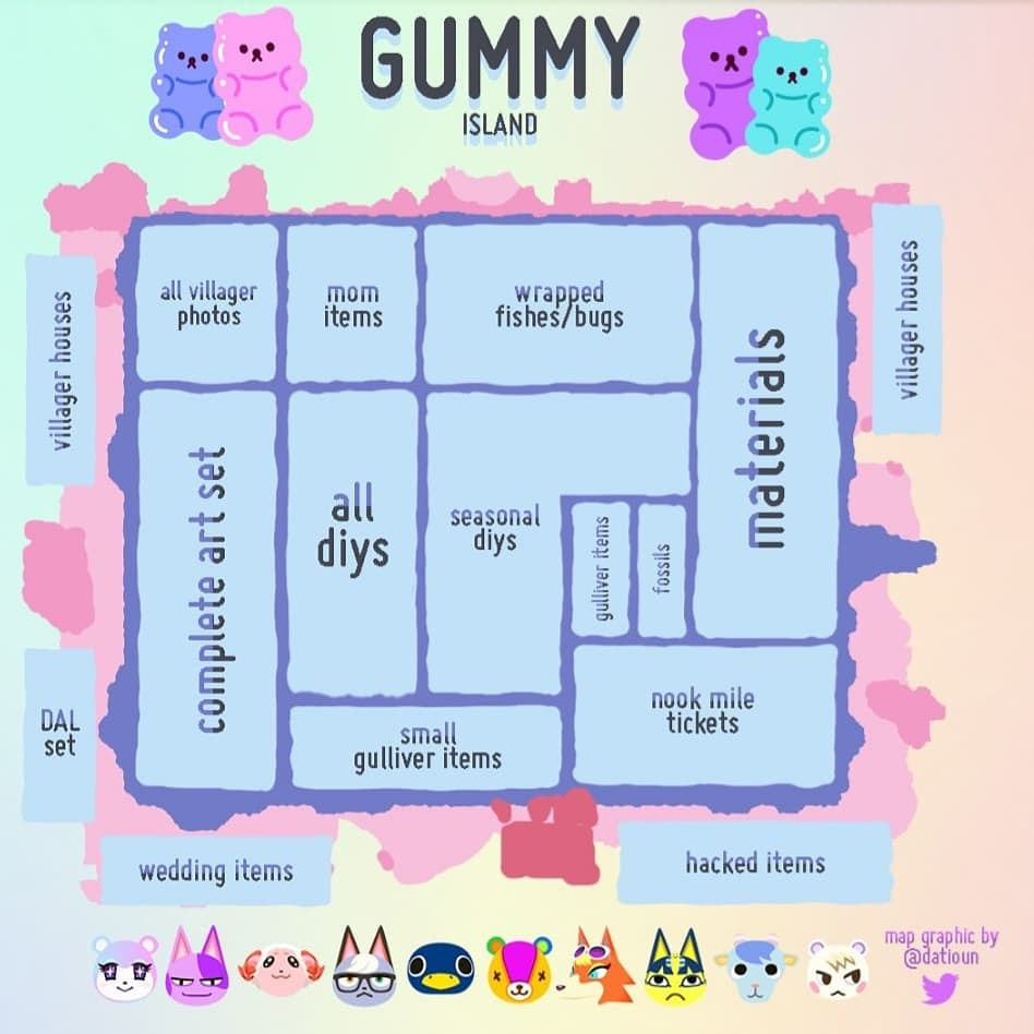 giveaway  ends in 24 hours!   4 winners will get 1 hr in gummy!   ꒰ to enter: ꒱ 🍭follow @acnhgummy 🍭 rt and like  good luck! 🍭  DM for instant passes starting at $1!  #ACNHgiveaway #dodocode #AnimalCrossingNewHorizons #acnh
